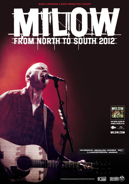 Milow: From North To South 2012