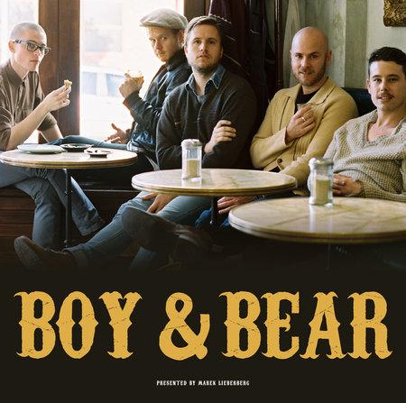 Boy & Bear: Live 2012