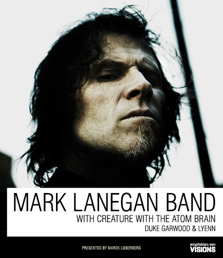 Mark Lanegan Band: Tour 2012