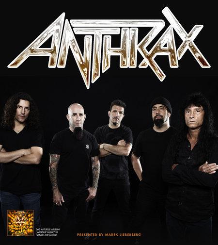 Anthrax: Live 2012