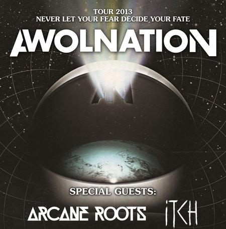 Awolnation: Tour 2013