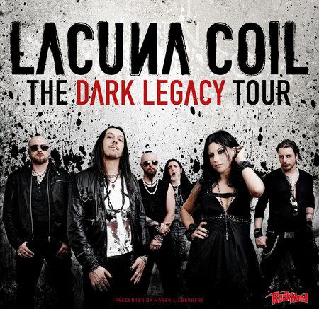 Lacuna Coil: The Dark Legacy Tour 2012