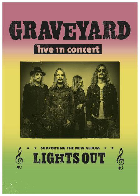 Graveyard: Tour - 2012
