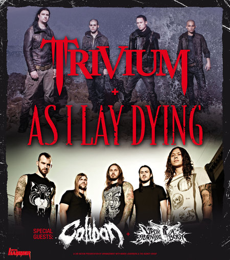 Trivium & As I Lay Dying: Tour 2012