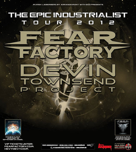 Fear Factory & Devin Townsend Project: Tour 2012