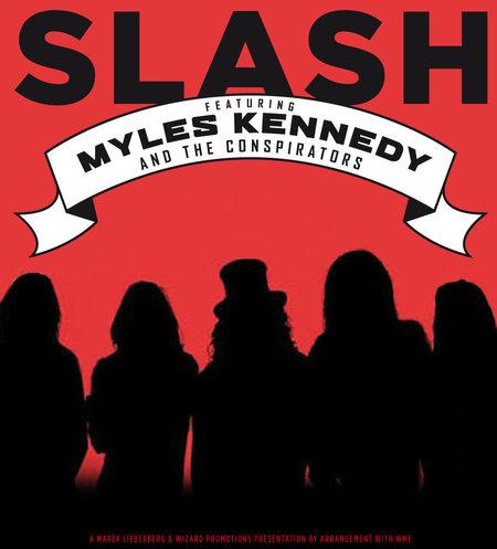 Slash: feat. Myles Kennedy & The Conspirators  - 2012