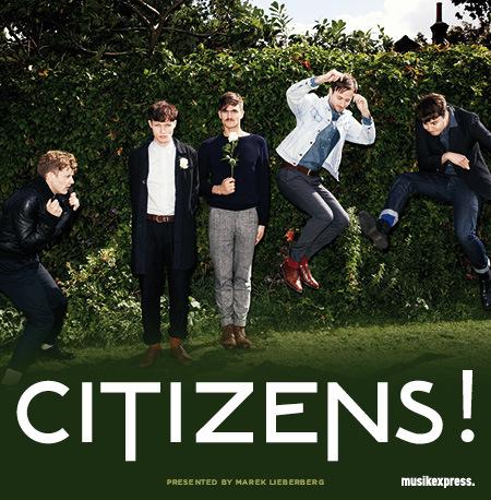 Citizens!: Tour 2012