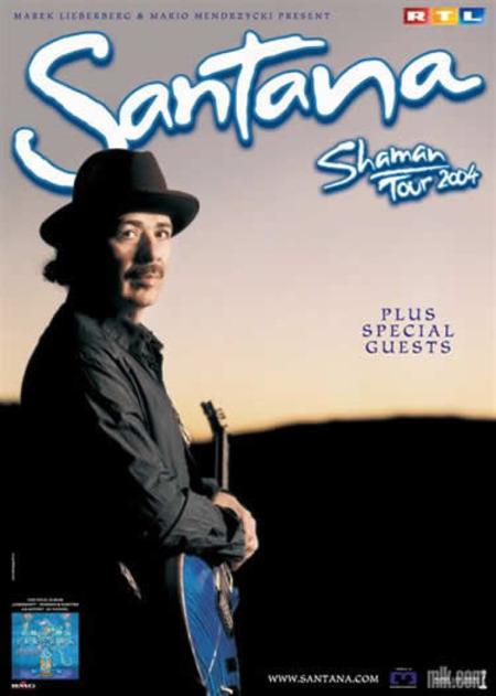 Santana: Shaman Tour 2004