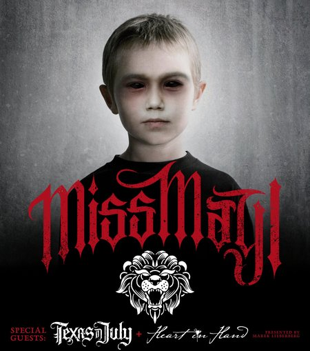 Miss May I: Tour 2012