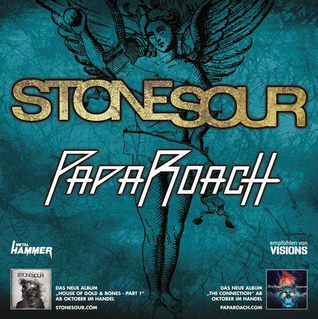 Stone Sour: & Papa Roach - Tour 2012