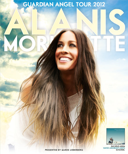 Alanis Morissette: Guardian Angel Tour 2012