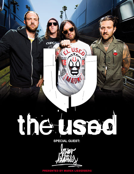 The Used: Tour 2012