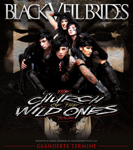 Black Veil Brides: The Church Of The Wild Ones Tour 2013