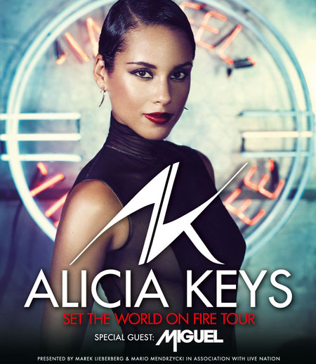 Alicia Keys: Set The World On Fire Tour 2013