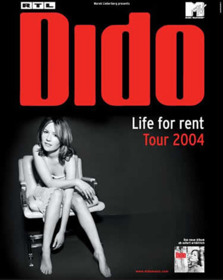 Dido: Life For Rent Tour 2004