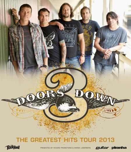 3 Doors Down: Live 2013