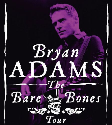 Bryan Adams: The Bare Bones Tour 2013