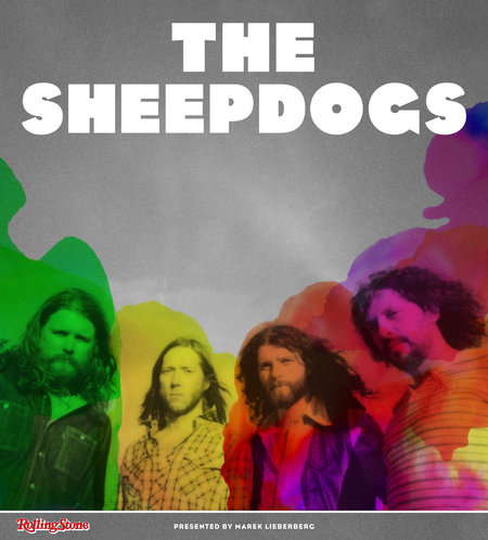 The Sheepdogs: Tour 2013
