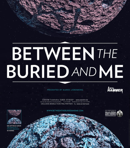 Between The Buried And Me: Tour 2013