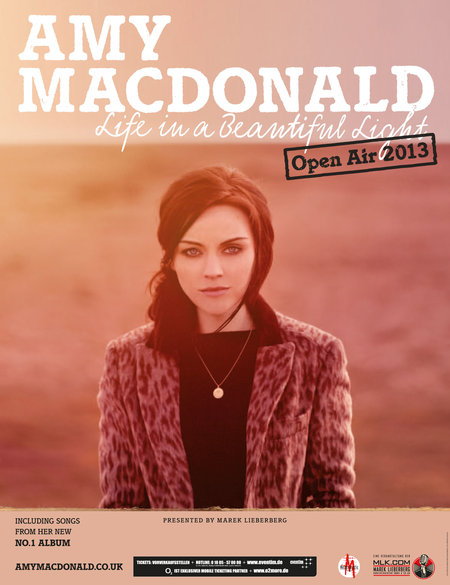 Amy Macdonald: Life in a Beautiful Light - Open Air 2013