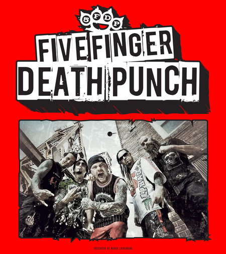 Five Finger Death Punch: Live 2013