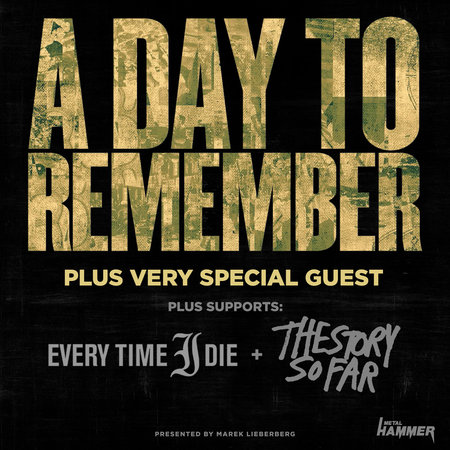 A Day To Remember: Tour 2014