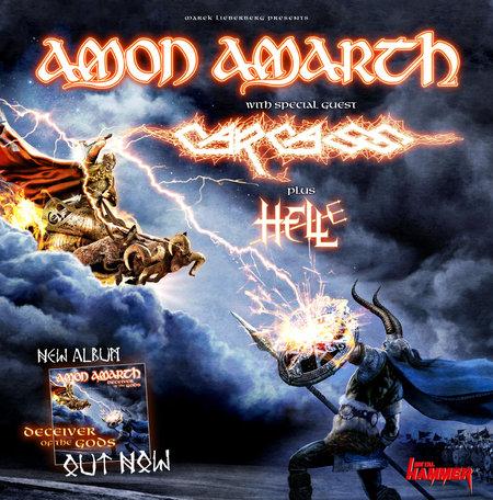 Amon Amarth: Tour 2013