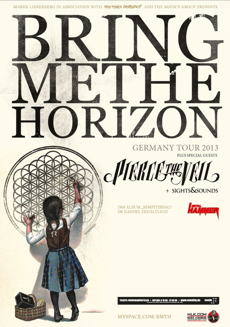 Bring Me The Horizon: Tour 2013