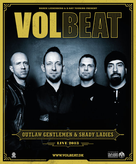 Volbeat: Tour 2013