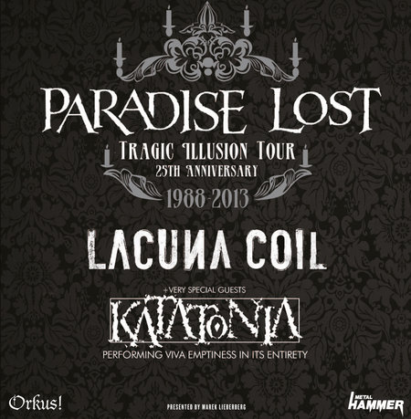 Paradise Lost: 25th Anniversary Tour - 2013