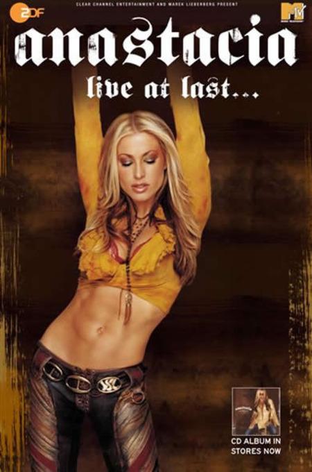 Anastacia: Live at last...