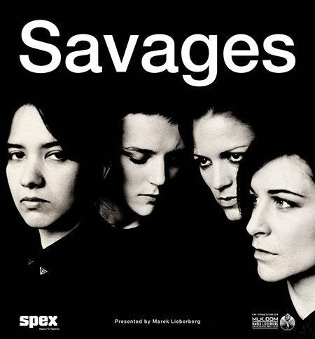 Savages: Tour 2013