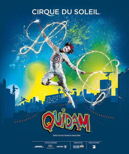 Quidam: von Cirque Du Soleil - 2014