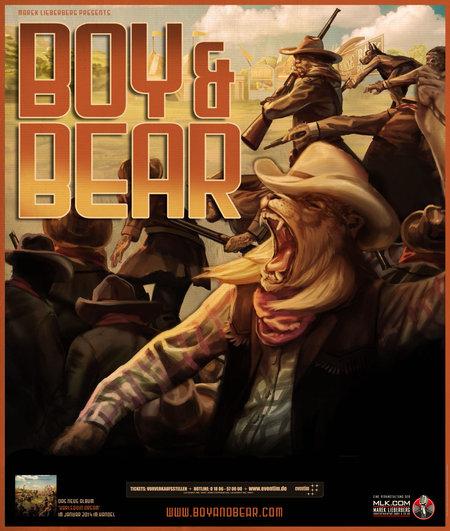 Boy & Bear: Live 2014