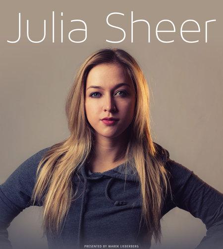 Julia Sheer: Live 2014