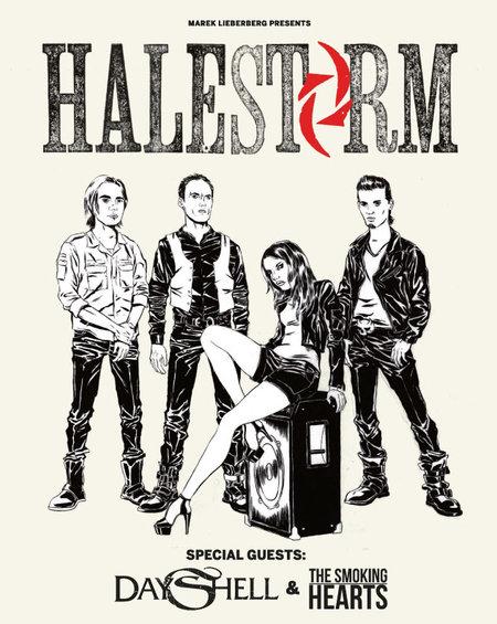 Halestorm: Live 2014