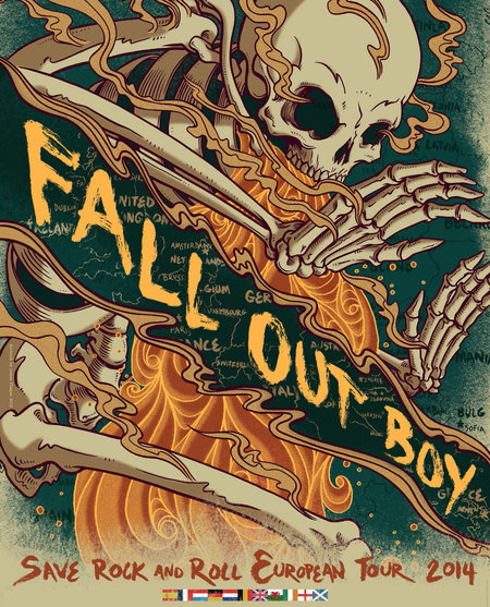 Fall Out Boy: Save Rock and Roll European Tour 2014