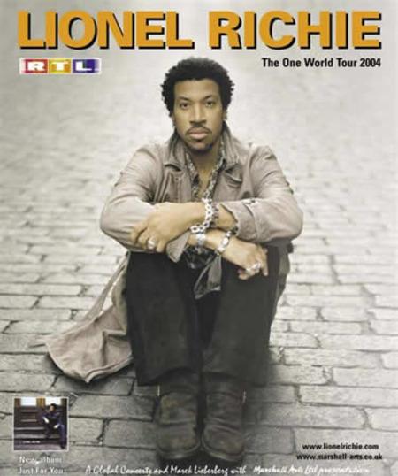 Lionel Richie: The One World Tour 2004