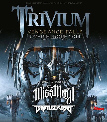 Trivium: Tour 2014