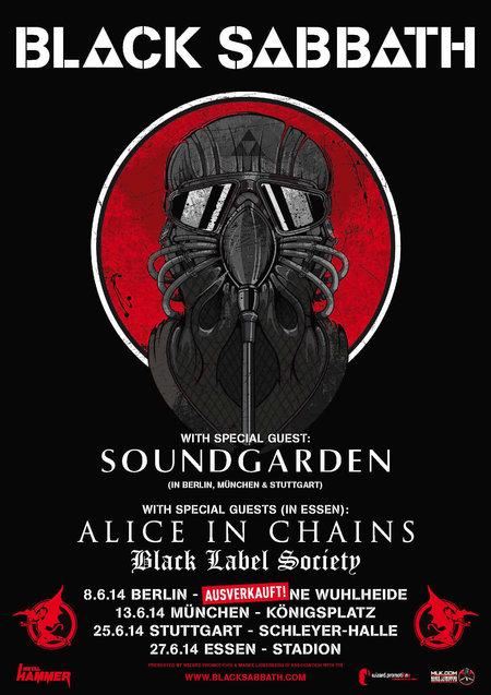 Black Sabbath: Tour 2014