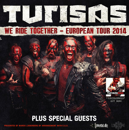 Turisas: We Ride Together – European Tour 2014