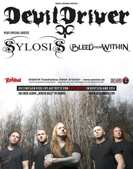 Devildriver: Tour 2014