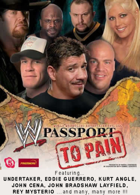 WWE SmackDown: presents Passport to Pain