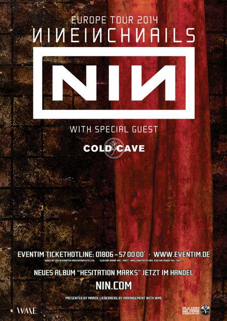 Nine Inch Nails: Europe Tour 2014