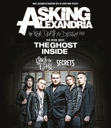Asking Alexandria: Tour 2014