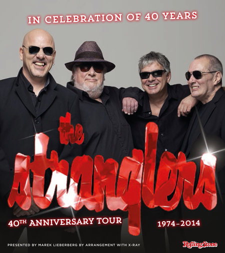 The Stranglers: 40th Anniversary Tour 2014