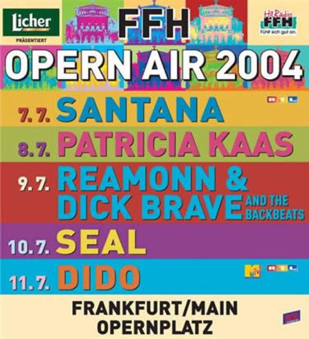 Frankfurt Opern Air: 2004