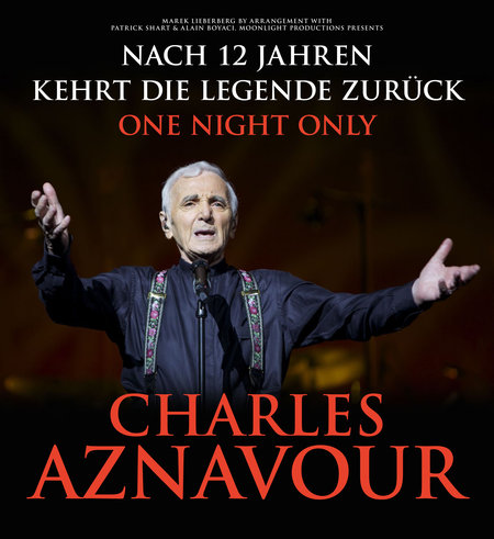 Charles Aznavour: One Night Only - 2014