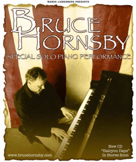 Bruce Hornsby: Special Solo Piano Perfomance