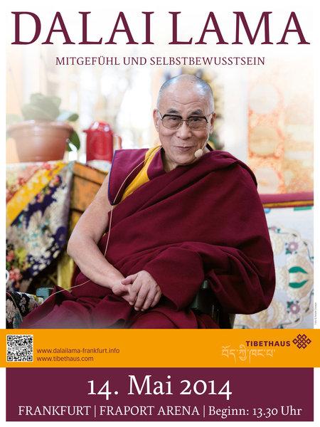 Dalai Lama: Mitgefühl und Selbstbewusstsein - 2014